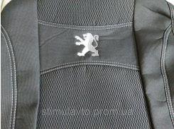 Чехлы сидений Peugeot Partner 2002-2008(1+1+1)