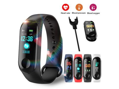 Sports Men Women Smart Watch Fitness Bracelet Color-screen Waterproof blood pressure Monitor Heart Rate Monitoring Pk mi band 3 Киев