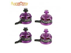 Hot Sale 4 Pcs Racerstar Racing Edition 2205 BR2205 Purple 2600KV 2-4S Brushless Motor For 210 X220 250 280 Outdoor Toys