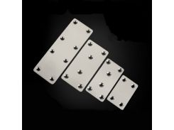 Multifunction Stainless Steel Flat Corner Connector Furniture Fixing Connector Household Table/chair/cupboard/wardrobe Bracket