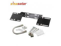 Solar Panel Wall And Pole Mounting Bracket System