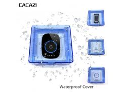 Newest Waterproof cover FOR Wireless Doorbell smart Door Bell ring chime button Transmitter Launcher call Accessories heavy rain