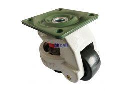 GD-60-F Rubber foot trolley level adjustment equipment platform 100kg load furniture roller master foma wheel leveling Caster