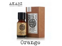 AKARZ Famous brand natural aromatherapy orange oil Moisturizer Skin Digestion Promote Vitamin c Comfort orange Essential oil