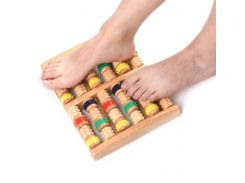 Wooden Roller Foot Massager Stress Relief Health Therapy Relax Massage Tools Foot Health Care