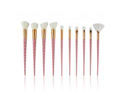 10pcs Unicorn Makeup Brush Set Pink White Foundation Blending Powder Eyeshadow Make Up Brushes Cosmetic Beauty Make Up Tools