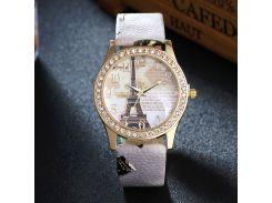 Luxury Brand Fashion Eiffel Tower Vintage Leather Quartz Watch Women Ladies Wrist Watches Casual Chinoiserie woman clock gifts