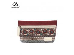 b379e333de98 Canvasartisan women's change coin purse canvas vintage floral clutch holder  female retro small simple purses phone