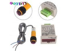 OOTDTY 6-Digit LED Display 1-999999 Counter Adjustable NPN Photoelectric Sensor Switch Digital Counter Drop Shipping Support