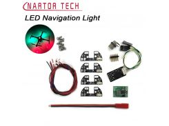 LED Night Navigation Light 4pcs 5V High Power Light Rack LED Board with Cable for FPV Quadcopter F450 F330 F550 S500 S550 Frame