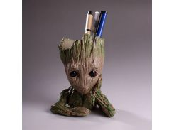 Cute Guardians of the Galaxy Groot model Creative pencil Pen Holder desktop boxes office accessories stationery holder gift