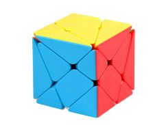 Moyu Mofangjiaoshi Stickerless Fluctuation Jin'gang Skew Magic Cube Axis Speed Puzzle Cubes Educational Toys For Kids Children