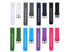 21cm Soft Silicone Watch Band Replacement Watch Strap for Cookoo2 Watch Pebble Time LG MOTO360 2rd Generation Watct Accessories