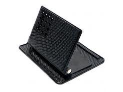 Anti-slip Mat Car Mobile Phone Holder Dashboard Anti Slip Pad GPS Mount Bracket Portable Universal 360 Degree Rotatable Black