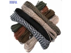 Paracord 550 Umbrella Military Rope 7 Core 100FT 31m Climbing Camping Emergency Survival Paracord Parachute Cord Self Defense