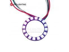 ws2812b 16leds pixel ring;addressable ring modules;DC5V input;RGB full color;round LED Circle Development Board