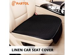 Partol 1Pc Universal Car Seat Covers Breathable Front Auto Car Seat Protector Automobile Seat Cover Cushion Pad Mat Car Styling