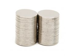 50pcs/Set 14.9x0.8mm N52 Rare Earth Strong Neodymium NdFeB Magnet Bulk Super Magnets N52 Round Shape Magnets Magnetic Materials