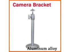 camera Bracket Stand CCTV Camera Bracket Universal Outdoor/Indoor Monitor Accessories Metal 19cm Wall Lifting Silvery White