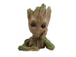 Guardians of The Galaxy Avengers Action Figure Model Toy Grooted Tree Flowerpot Man Phoneholder Macetero Pen Planter Flower Pot