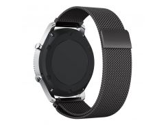 20mm 22mm Milanese Loop for Samsung Gear S3 Classic/Frontier Metal Stainless Steel Metal Band for Huami Amazfit Pace Bip Lite