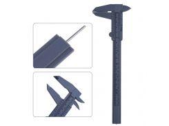 New Arrvial 1pcs 6 Inch 150mm Plastic Ruler Sliding Gauge Vernier Caliper Jewelry Measuring
