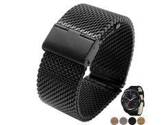 Milanese Strap Quick Release 22mm LG G Watch R W100 W110 Urbane W150 Stainless Steel Watch Band Bracelet