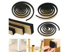 2m Self Adhesive Seal Strip Single Sided Foam Seal Tape Strip For Door Window Seal Strip Foam Draught Excluder