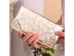 Brand Womens Wallets and Purses Female Long European and American Style Pu Leather Wallet Coin Purse Ladies Designer Wallet 127