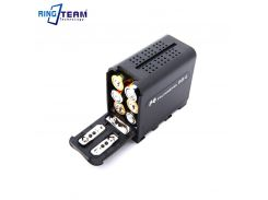 FALCON EYES BB-6 BB6 Battery Box Case for 6Pcs AA Batteries Replace NP-F970 NPF970 fit LED VIDEO LIGHT Panel, Monitor...