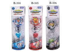 Original Product New Beyblade Burst Starter Zeno Excalibur bey blade B-104 B-105 B-106 With Launcher And Box Gifts For Kids