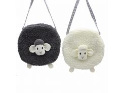 M650 Plush Small Sheep Children Messenger Bag, Cute And Fashionable Cartoon Bag Women's Children's Bag Wholesale