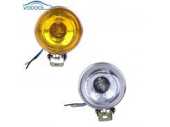 12V 55W Car Fog Light Working Light Lamp 3inch Round  Car Side Lights Reversing Light White Yellow Car Accessaries