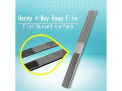 Hot Sale 4 In1 Carbon Steel Rasp File Carpentry Woodworking Wood Hand Tool 8'' 205mm Best Quality