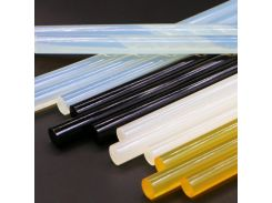 20Pcs/Set 7mm/11mm*250mm/270mm Hot Melt Adhesive Hot Melt Glue Sticks for Glue Gun Hot Glue High Viscosity Glue Bar Black Yellow