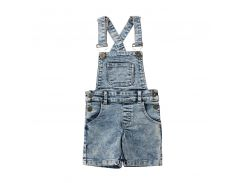 Kids Baby Boys Girls Denim Bib Pants Overalls Jean Outfits Sleeveless Back Cross Denim Shorts Jumpsuit Outfits Summer Clothes