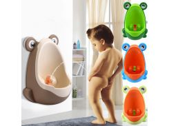 Frog Boys Potty Urinal Toilet With Suction Cups Urinoir Enfant Penico Menino WC Training Pinico Kids Pee Urinal-Boy For Children