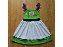 2018 Girls Summer  Dress Princess Cosply Birthday Dresses Costume for Kids Clothing Children Party Dresses