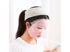 New Arrival Silicone Face mask Cover Prevent Mask Essence Evaporation Speed Up The Absorption Moisturizing Facial Mask Cover