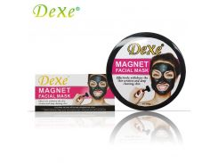 100g Dexe Magnetic Mask Kit Deep Cleaning with Magnet Wand Replenish Gentle Formula Keep Moisturized Whitened and Well-nourished
