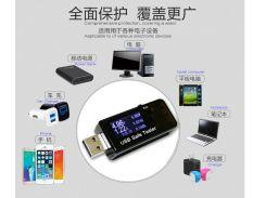 10pcs/lot Digital Display 3V-30V Mini USB Tester Current Voltage Charger Capacity  Doctor QC2.0 quick charge power bank meter