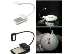 Portable Lamp 0.5W Flexible Mini Clip On Reading Light Reading Lamp for Amazon Kindle  For eBook Readers For PDAs