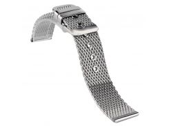High Quality Stainless Steel Mesh Iron Watchbands 18mm 20mm 22mm Bracelet Watch Strap Pink Buckle Watch Band
