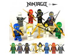 Ninja Kai Jay Zane Cole Lloyd Carmadon With Tornado Motorcycle Compatible With LegoINGs Ninjagoes figures Building Block Toys 15