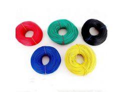 VENSTPOW 5/10 meters/lot RV Wire 0.3mm Multi-strand Flexible Stranded Cord Copper Core PVC Wire DIY 22AWG