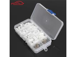 40 Sets In Box JST 2.5mm XH 2P 3P 4P 5Pin Male Female Housing Connector with Crimps Pin Header Connector Adaptor