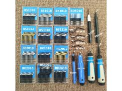 High quality trimming blade BS1010 deburring bayonet NB1100 scraper handle BS2012