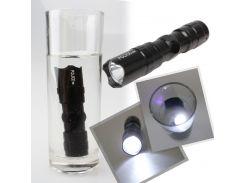 Newest   New Hot Mini Handy LED Waterproof Torch Flashlight Light Lamp