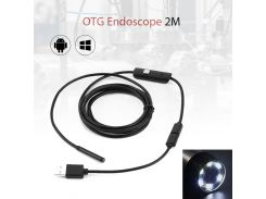 5.5mm Lens 720P Android USB Endoscope Camera Soft Snake Wire Inspection Tube Android Borescopes Mini Camera For PC Android Phone