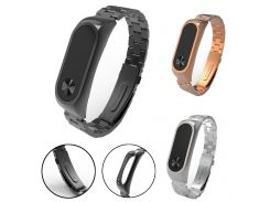 OTOKY Watchbands Stainless Steel Luxury   Metal Ultrathin New Strap Replacement Adjustable For Xiaomi Mi Band 2  14-24 CM